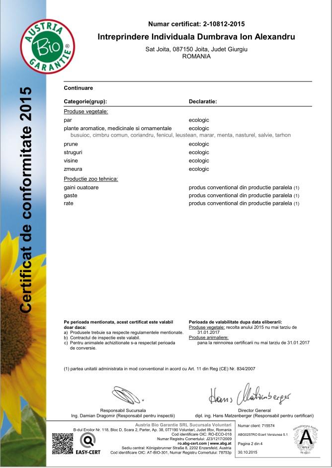 Certificat bio_2_2015